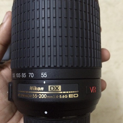 how to use nikon 55 200mm vr lens